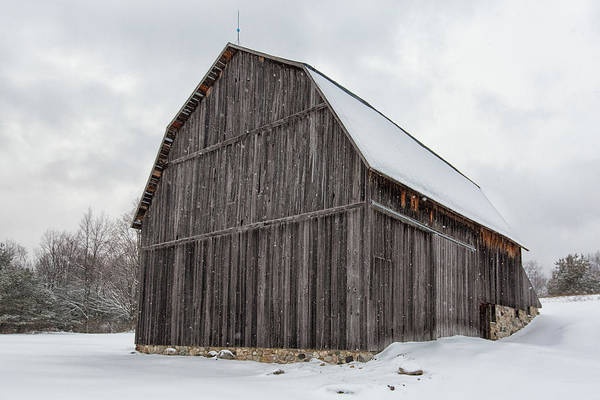 Wall Art - Photograph - Brunson Barn 1 by Heather Kenward