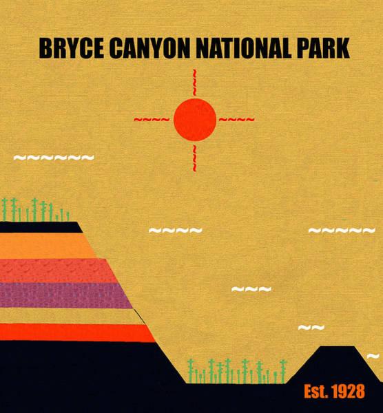Wall Art - Mixed Media - Bryce Canyon N. P. M Series by David Lee Thompson