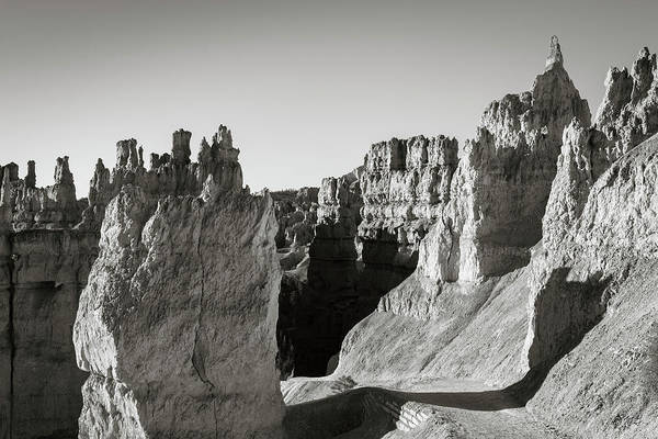 Photograph - Bryce Canyon Np Ix Bw by David Gordon