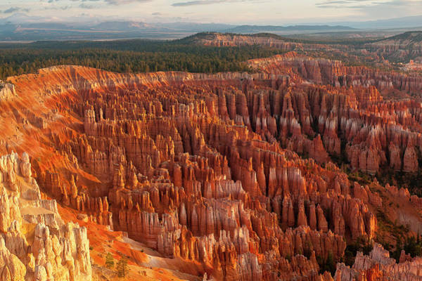 Rock Formation Photograph - Bryce Canyon by Phil