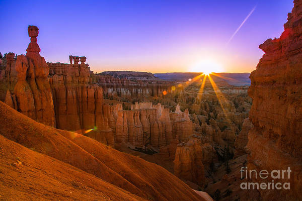 Image Wall Art - Photograph - Bryce Canyon Sunrise by Shane Myers Photography