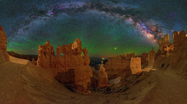 Photograph - Bryce Panorama by Ralf Rohner