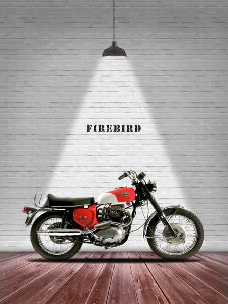 Firebird Photograph - Bsa Firebird 650 by Mark Rogan