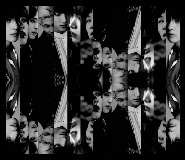 Mixed Media - Bts - Bangtang Boys by Ellie Perla