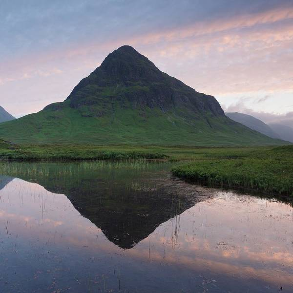Photograph - Buachaille Etive Beag Reflections by Stephen Taylor