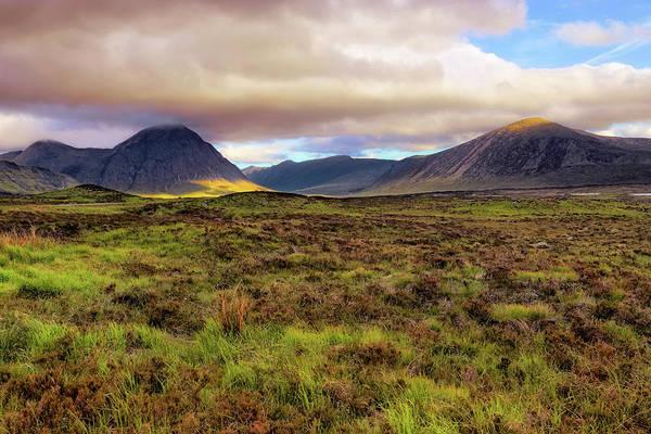 Photograph - Buachaille Etive Mor From Rannoch Moor - Scotland - Landscape by Jason Politte