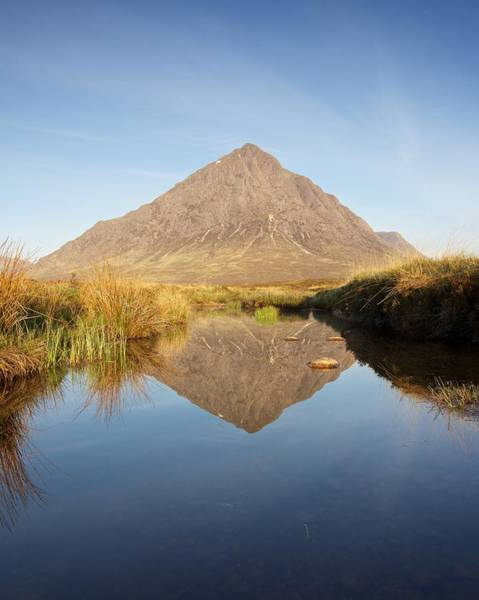 Photograph - Buachaille Mirrored by Stephen Taylor