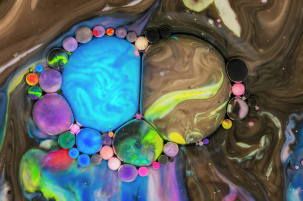 Digital Art - Bubbles Art - Asparuh  by Nikolovi-Art