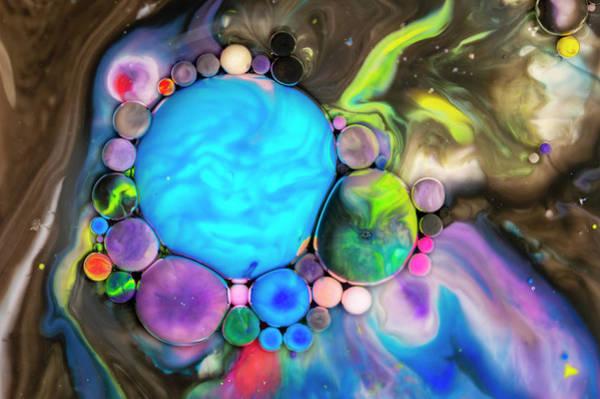 Digital Art - Bubbles Art - Chocolate River by Nikolovi-Art