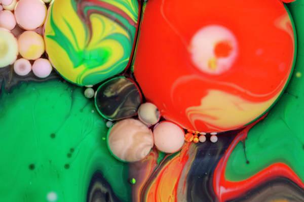 Digital Art - Bubbles Art - Edelvais by Nikolovi-Art