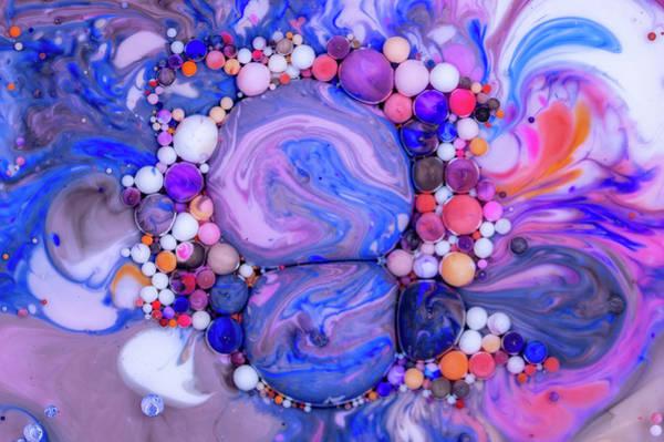 Digital Art - Bubbles Art - Elena by Nikolovi-Art
