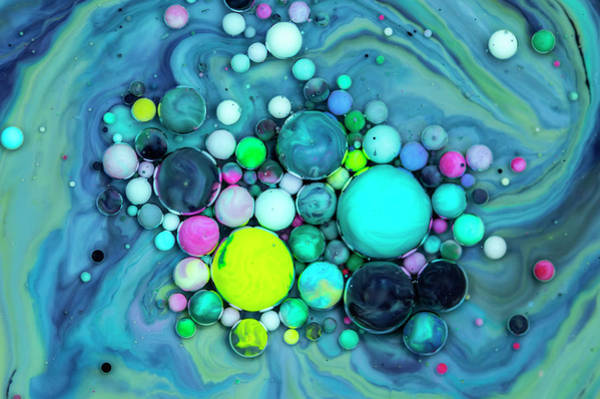 Digital Art - Bubbles Art - Meto by Nikolovi-Art