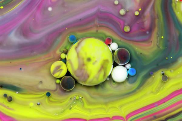 Digital Art - Bubbles Art - Sun by Nikolovi-Art