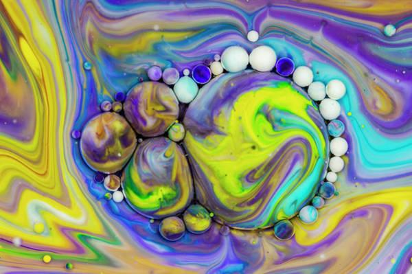 Digital Art - Bubbles Art - Zeus by Nikolovi-Art
