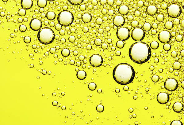 Salad Dressing Photograph - Bubbles In Olive Oil by Joseph Clark