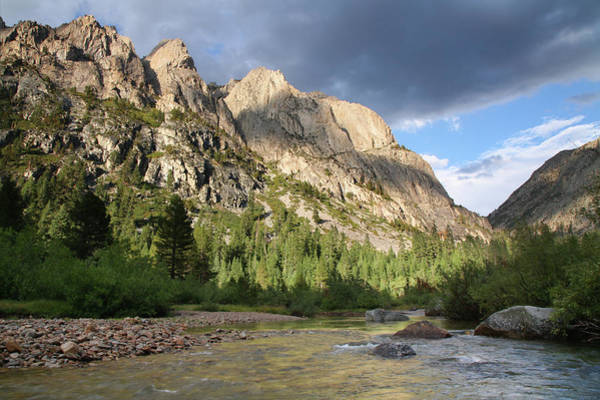 Kings Canyon Photograph - Bubbs Creek And Mountains by Feargus Cooney