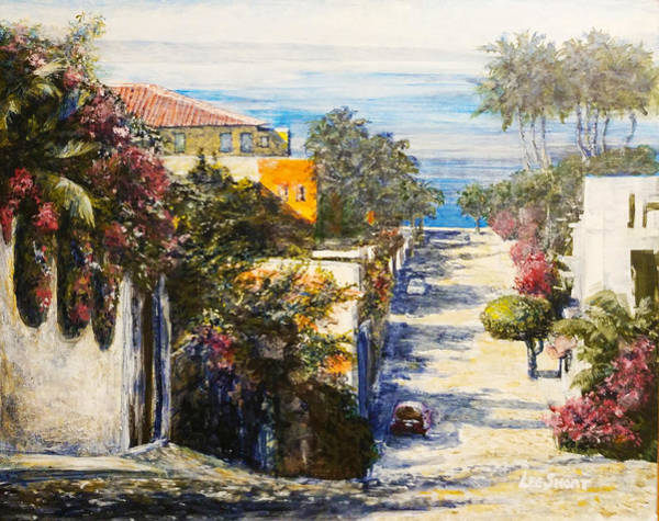 Wall Art - Painting - Ls 102 Bucerias Mexico By Lee Short by Lee Short
