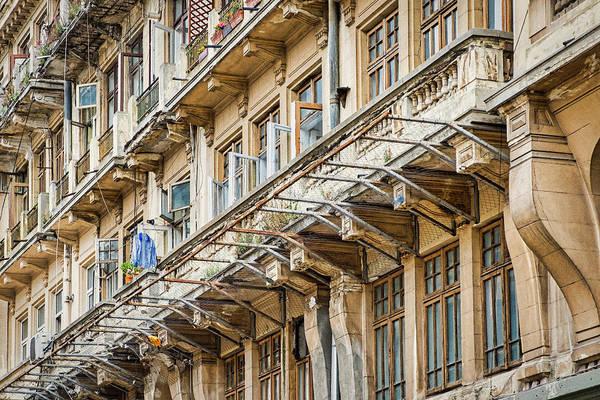 Photograph - Bucharest Architecure #2 - Romania by Stuart Litoff