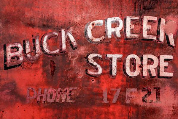 Photograph - Buck Creek Store by Todd Klassy
