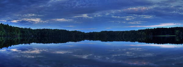 Photograph - Buck Lake Evening Panoramic by Dale Kauzlaric