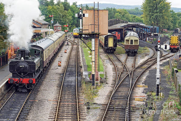 Photograph - Buckfastleigh Departure by David Birchall