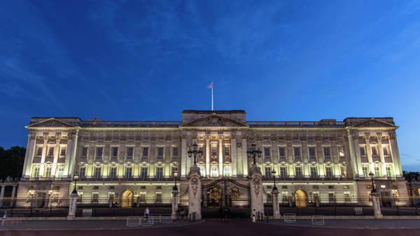 Photograph - Buckingham Palace London Blue Hour  by John McGraw