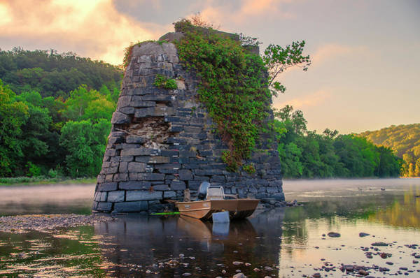 Wall Art - Photograph - Bucks County - Morning On The Delaware River by Bill Cannon