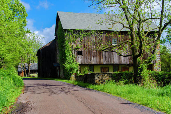 Wall Art - Photograph - Bucks County Pennsylvania Barn Near Tohickon Creek by Bill Cannon