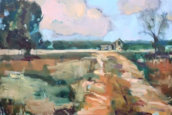 Painting - Bucolic Fincastle Farm by Donna Tuten