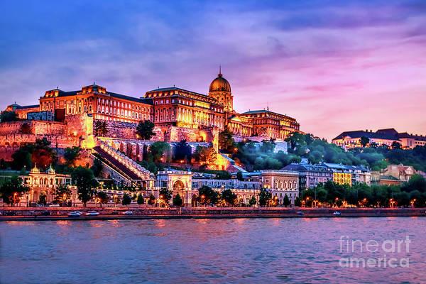 Wall Art - Photograph - Buda  Castle by Joseph Miko