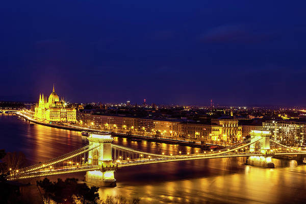 Wall Art - Photograph - Budapest At Twilight by Andrew Soundarajan