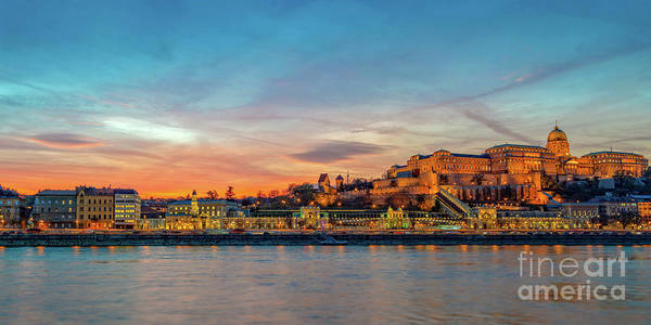 Wall Art - Photograph - Budapest Castle Panorama by Louise Poggianti