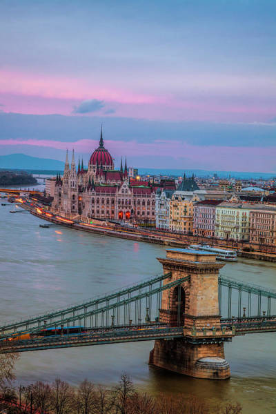 Wall Art - Photograph - Budapest Evening by Andrew Soundarajan