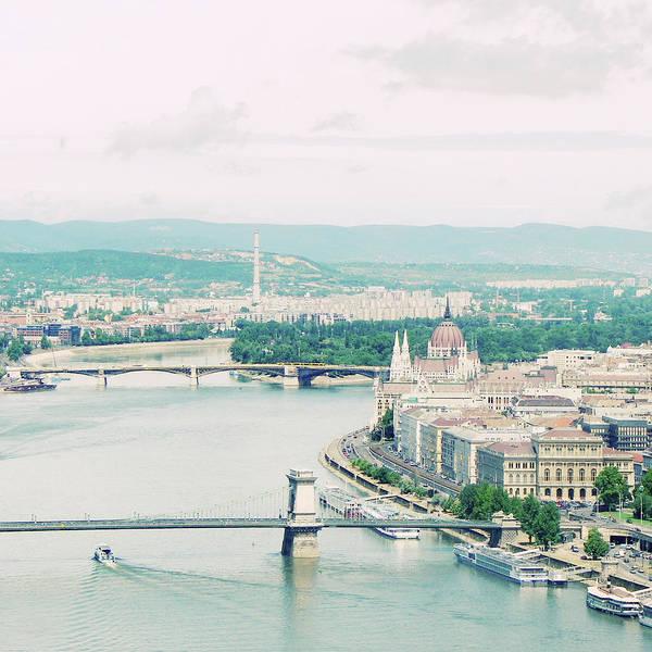 Parliament Building Photograph - Budapest In Hungarian by By Smaranda Madalina Cheregi