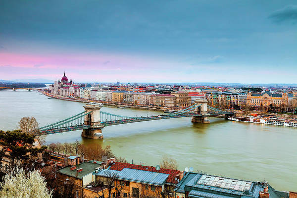 Wall Art - Photograph - Budapest View by Andrew Soundarajan