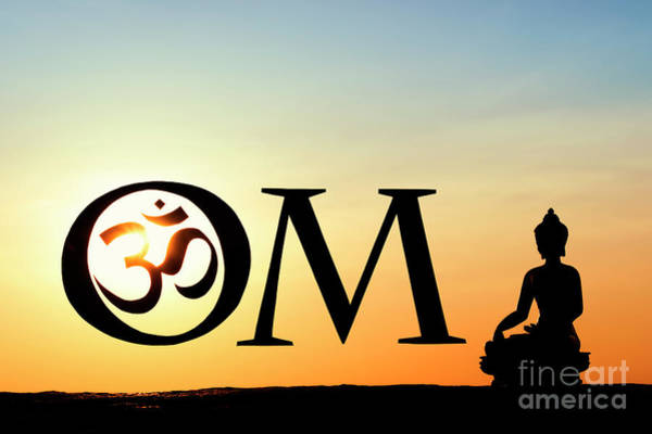 Wall Art -  - Buddha Aum by Tim Gainey