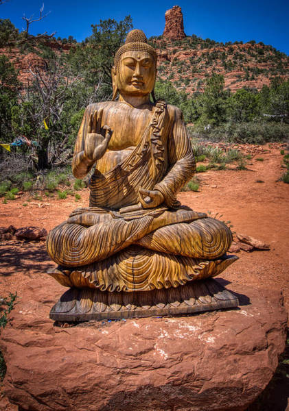 Photograph - Buddha Sedona by Ants Drone Photography