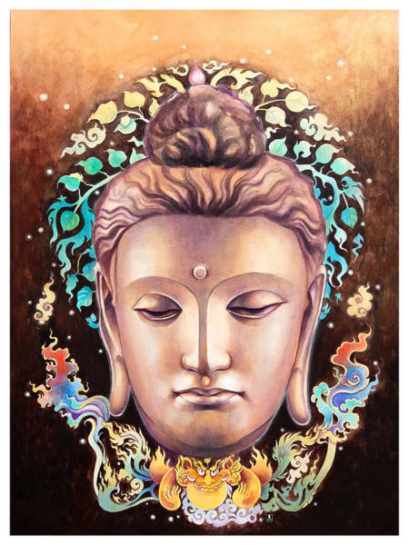 Wall Art - Painting - Buddha by Wachira Kacharat
