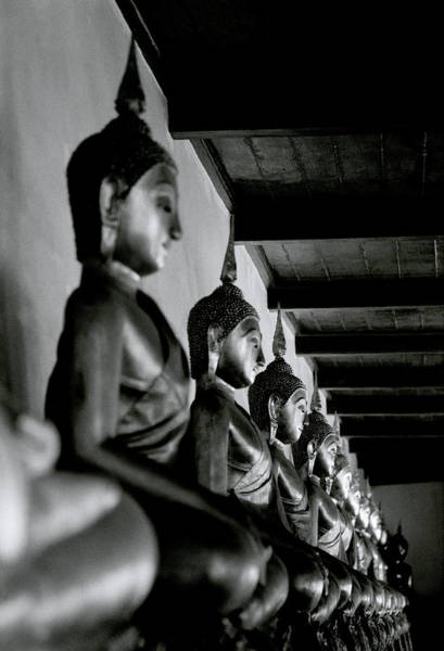 Photograph - Buddhas Of Wat Mahathat  by Shaun Higson