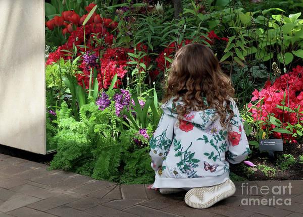 Photograph - Budding Horticulturist by Ann Horn