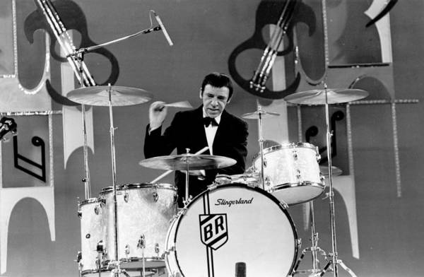 Human Interest Photograph - Buddy Rich by Lee