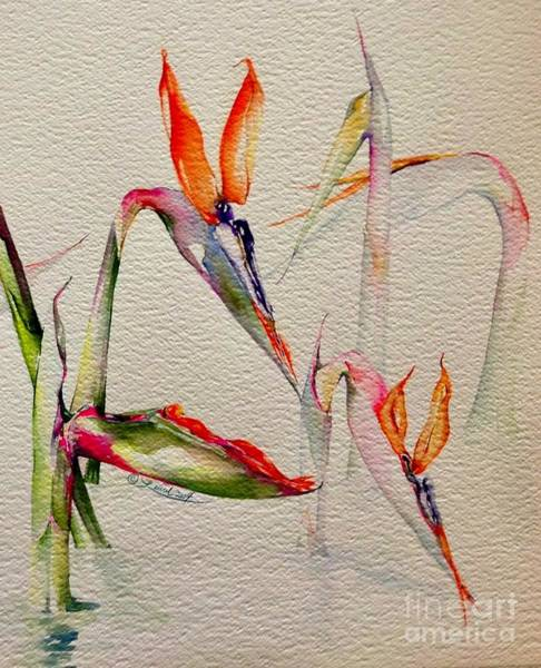 Painting - Buds Emerging by Laurel Adams