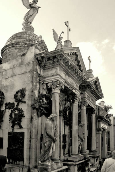 Photograph - Buenos Aires Cemetary by Mark Duehmig