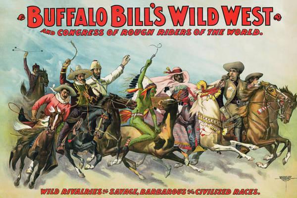 Wall Art - Photograph - Buffalo Bill's Congress Of Rough Riders 1898 by Daniel Hagerman