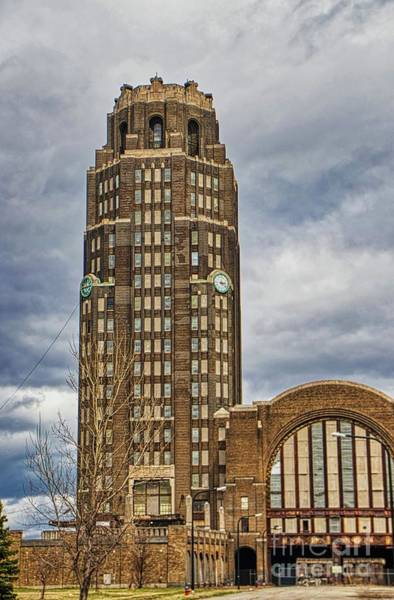Photograph - Buffalo Central Terminal Buffalo Ny. by Jim Lepard