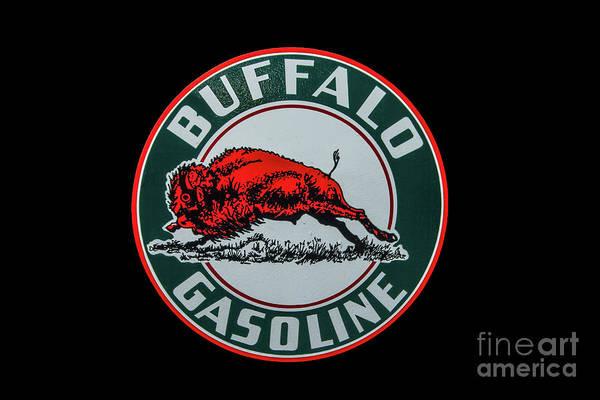 Photograph - Buffalo Gasoline by Tony Baca