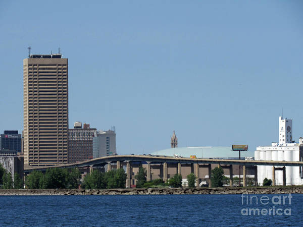 Photograph - Buffalo New York by Roberta Byram