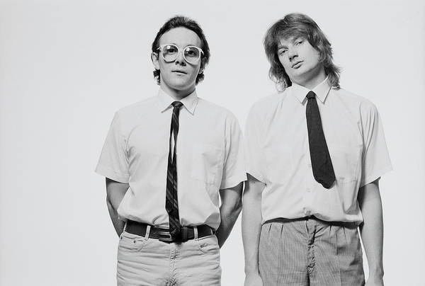 June Photograph - Buggles Posed by Fin Costello