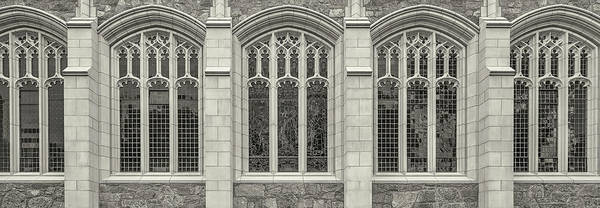 Chestnut Hill Photograph - Building Exterior, Boston College by Panoramic Images