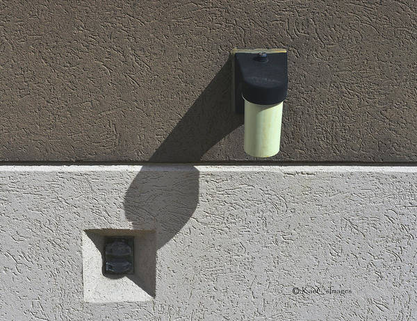 Wall Art - Photograph - Building Light And Outlet by Kae Cheatham